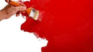 видео Применение моющихся красок