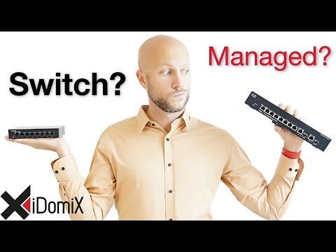 Soll ich Hub, Switch, Web Smart Switch oder Managed Switch kaufen?   iDomiX