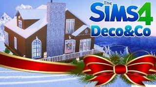 CHALET DE NOEL - Construction Sims 4