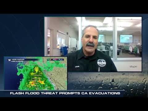 Flash Flood Watches, Evacuations Ordered for Santa Barbara Co. in California