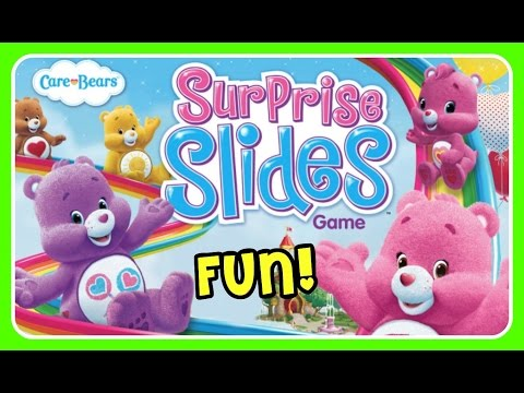 Care Bears Surprise Slides Game!  Care Bears Game with Cheer Bear, Funshine Bear, Share Bear, & More