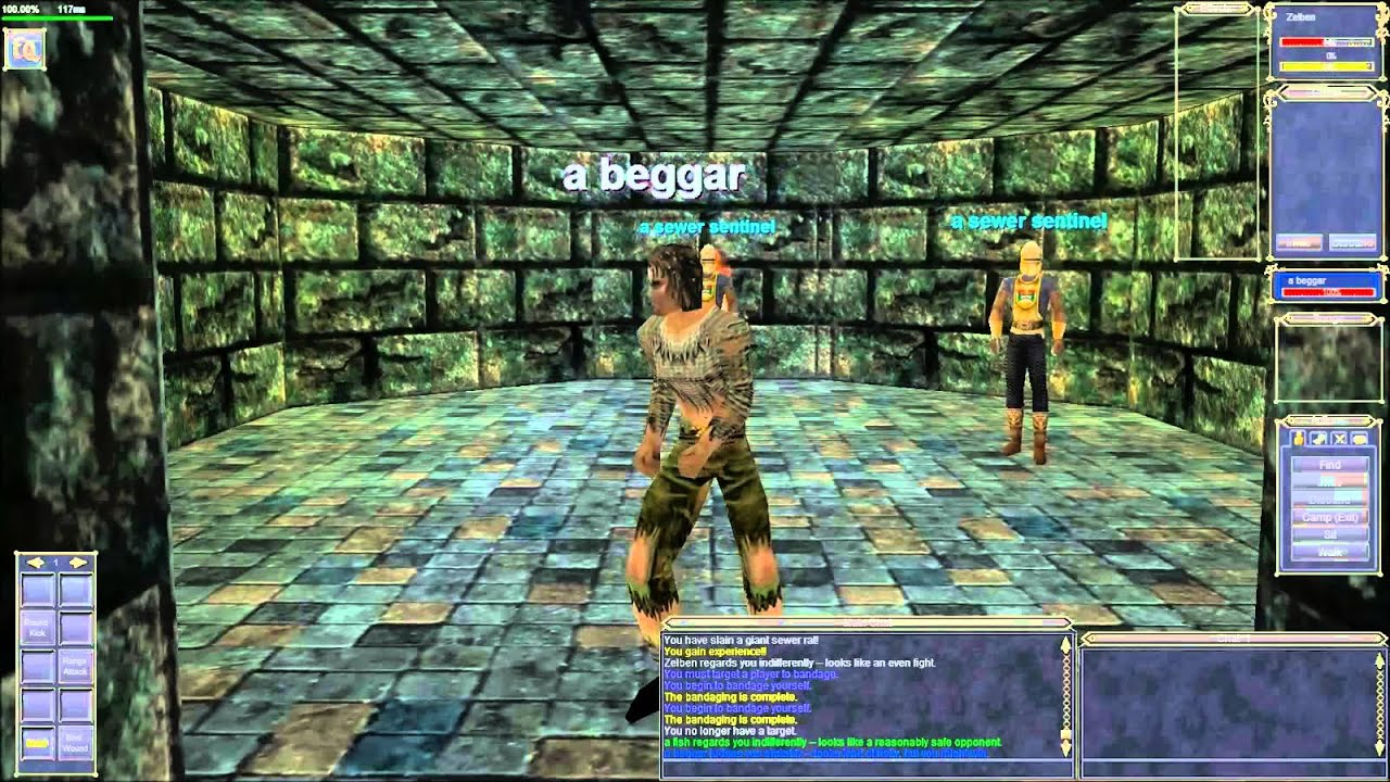 Project 1999 Classic Everquest - Zelben in the Sewers