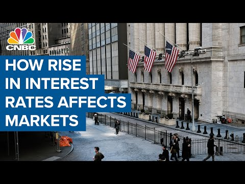 What a rise in the interest rates means for markets