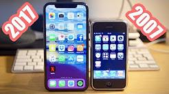 Dede Toruna Karşı: Tarihin İlk iPhone'u 2G iPhone X'a Karşı! (2017 VS 2007)