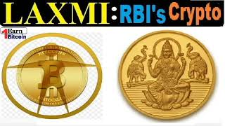 Laxmi Crypto coin - Earn Millions in RBI india cryptocurrency like bitcoin