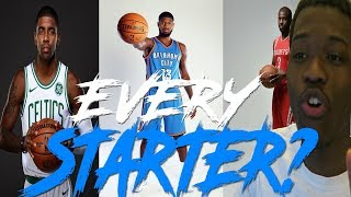 Can you name all 150 starters in the nba for the 2017-2018 season?