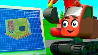 Construction Trouble - Upside Down Playhouse   Digley & Dazey   Kids Cartoons   Children's Stories
