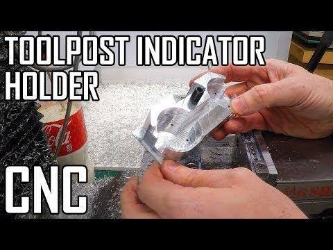 Toolpost Dial Indicator Part 3: Machining the Top - Clough42