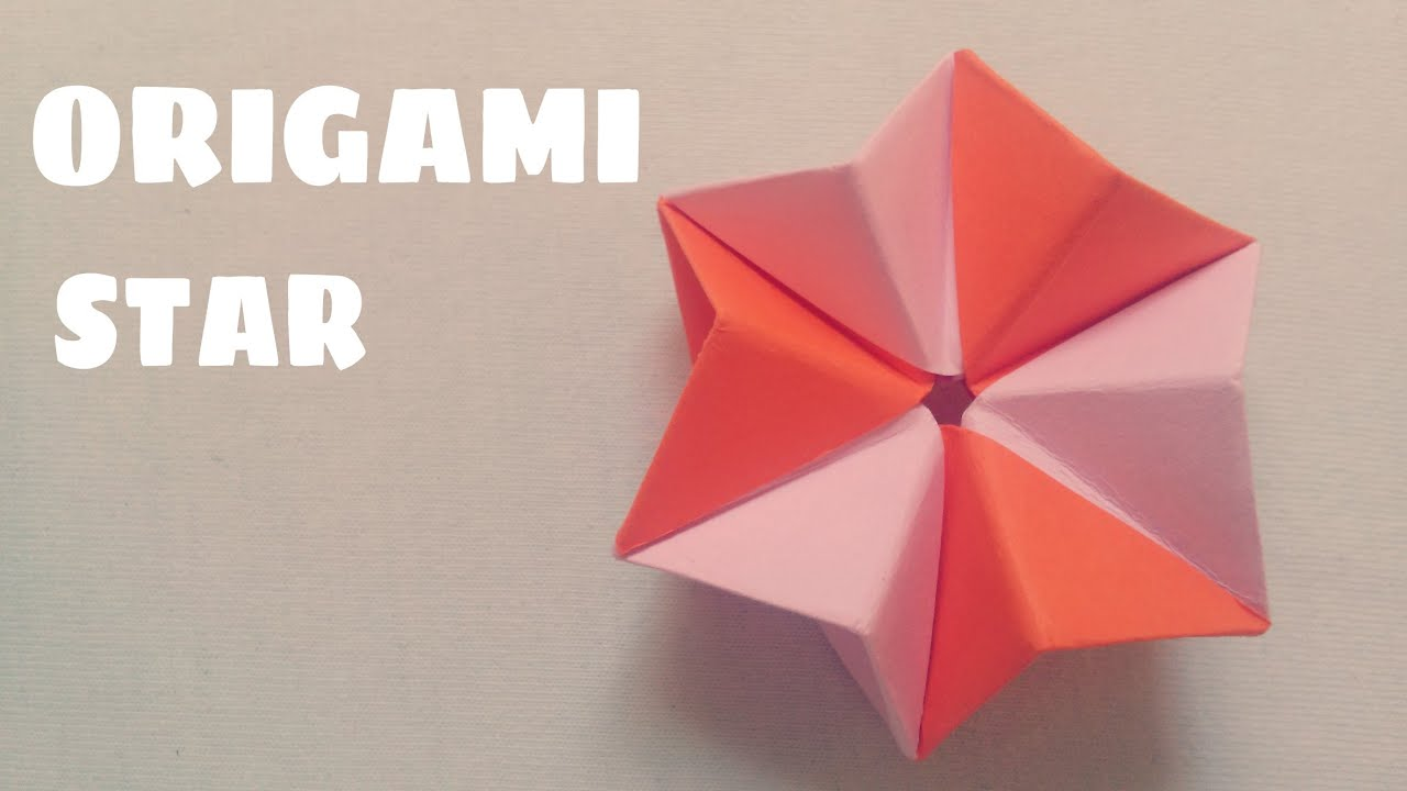 Origami 3D Star Tutorial - Origami Easy - YouTube - photo#31