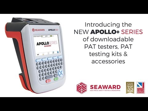 An Introduction to the Seaward Apollo+ Series of PAT Testers, PAT Testing Kits & Accessories