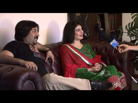 Nazia Iqbal& Javid Fiza Interview