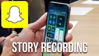 How to save peoples' Snapchat Stories