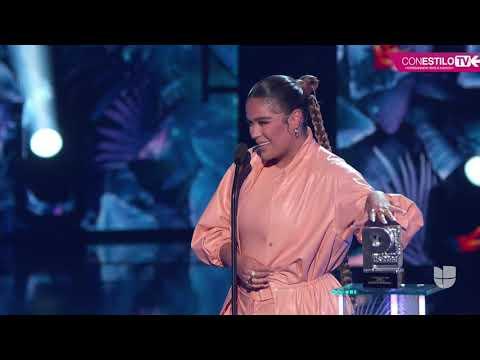 """Premios Juventud 2020 -  La mas pegajosa """"La Tusa"""" Karol G y Nicki Minaj"""
