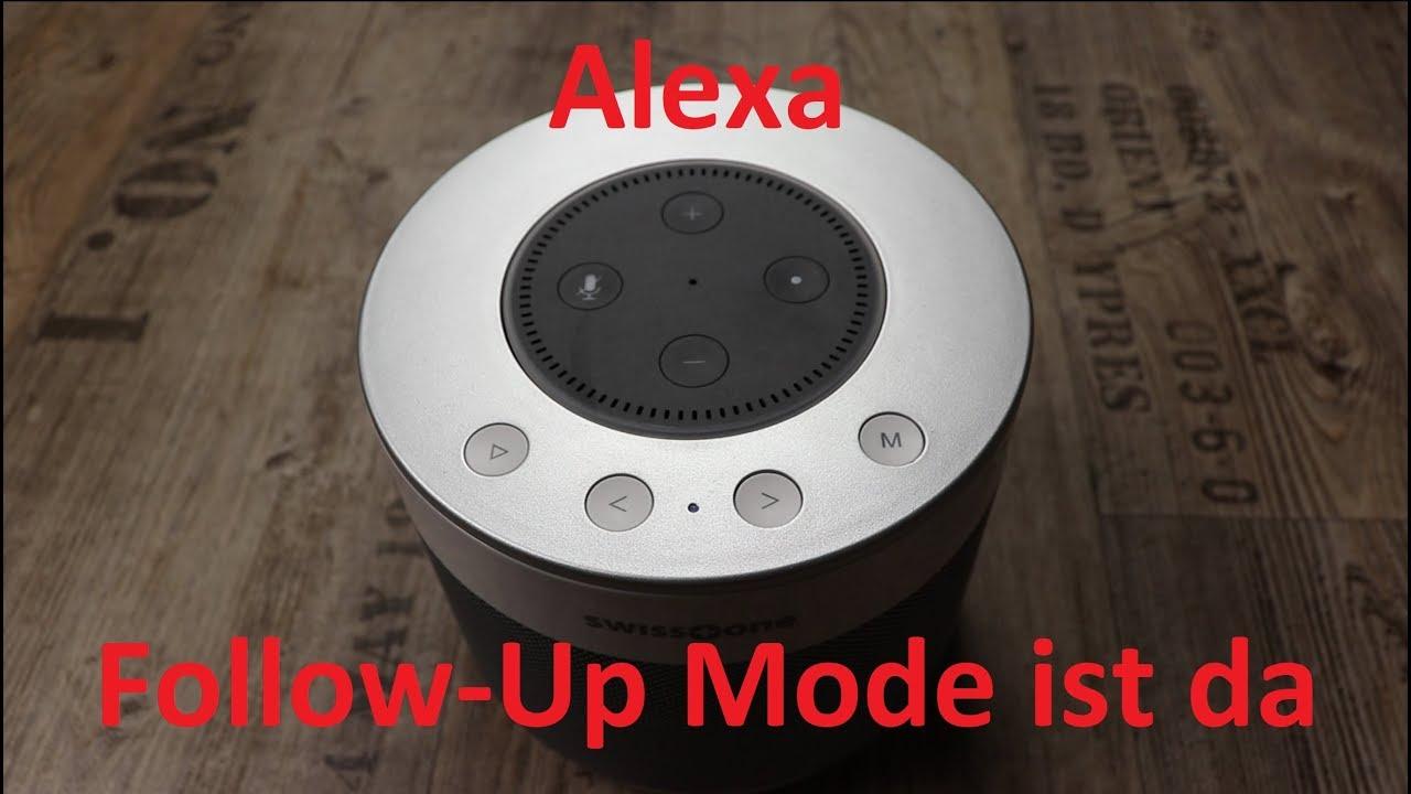Alexa Aufmerksamkeitsmodus