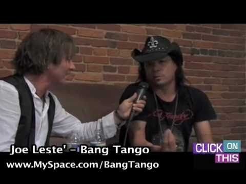 Interview with Joe Leste' from Bang Tango - Baltimore - Part One