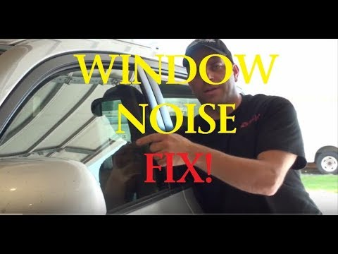 Toyota Highlander Window Problem Noise -FIX- Ozzstar