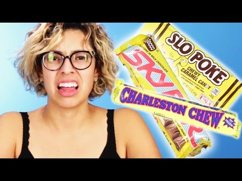 People Try Vintage Candy
