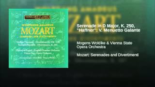 "Serenade in D Major, K. 250, ""Haffner"": V. Menuetto Galante"