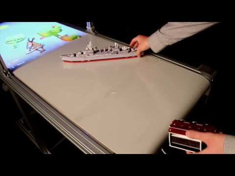 A Demonstration of Conveyor World: Mixed Reality Game on Physically Actuated Game Stage