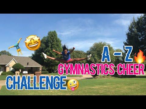 A - Z GYMNASTICS/CHEER CHALLENGE (EXTREME🤣🔥)