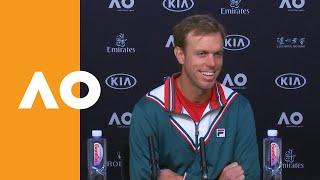 Sam Querrey press conference interview   Australian Open 2020 (1R)
