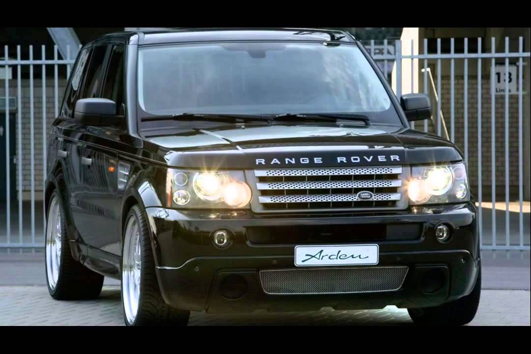 land rover range rover tuning - YouTube