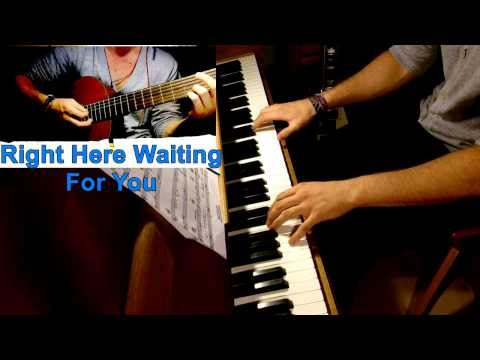 Richard Marx - Right Here Waiting For You - Piano Cover