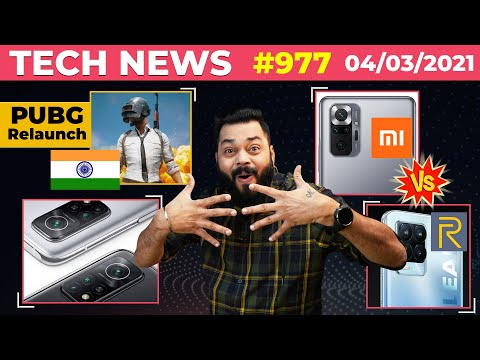 PUBG Mobile India Relaunch, Redmi Note 10 Series vs realme 8 Series, POCO X3 Pro & F3 Launch-#TTN977