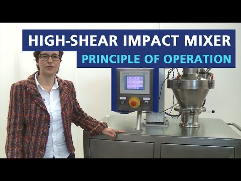 Cyclomix high shear paddle mixer