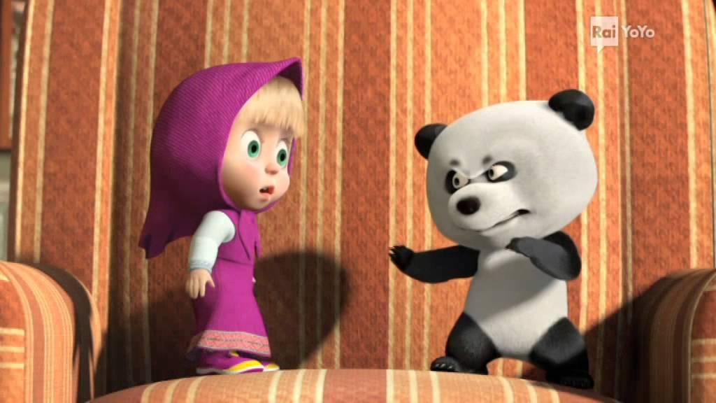 Video cartone orso e masha episodio video masha orso video