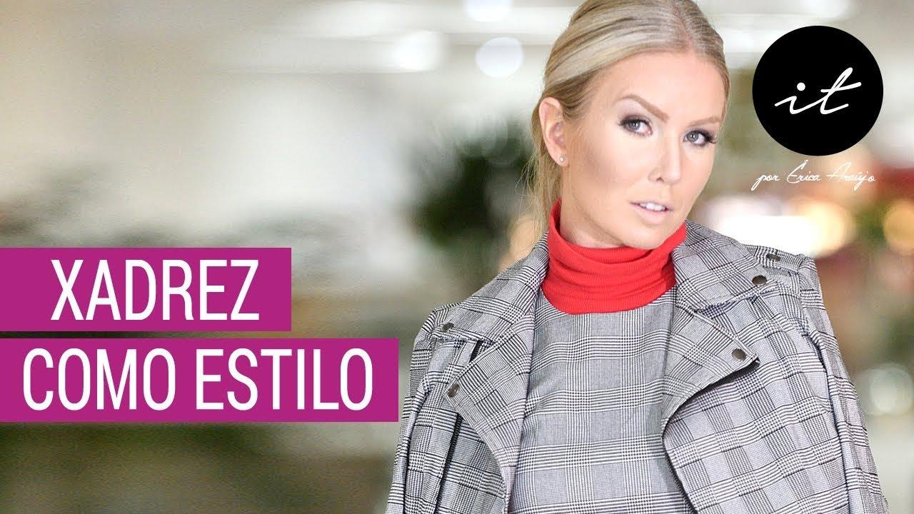 eaaa58948 Moda Inverno Verão 2019 : Xadrez como Tendência - Vestidos - Blusas -  Roupas -