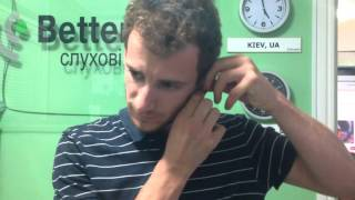 Отзыв про слуховые аппараты. Беттертон. STARKEY. SOUNDLENS. 2(Наш пациент из г. Одессы доволен качеством слуховых аппаратов
