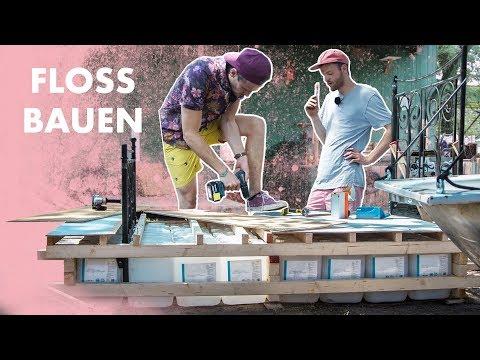 Floß mit Bett bauen | Auftrieb für 2 Autos oder mehr