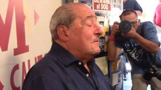 BOB ARUM -'I RESPECT GGG PUNCHING POWER BUT LOMACHENKO IS THE BEST EASTERN EUROPEAN FIGHTER'