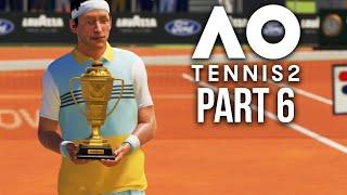 AO TENNIS 2 Career Mode Part 6 - ANOTHER FINAL ???