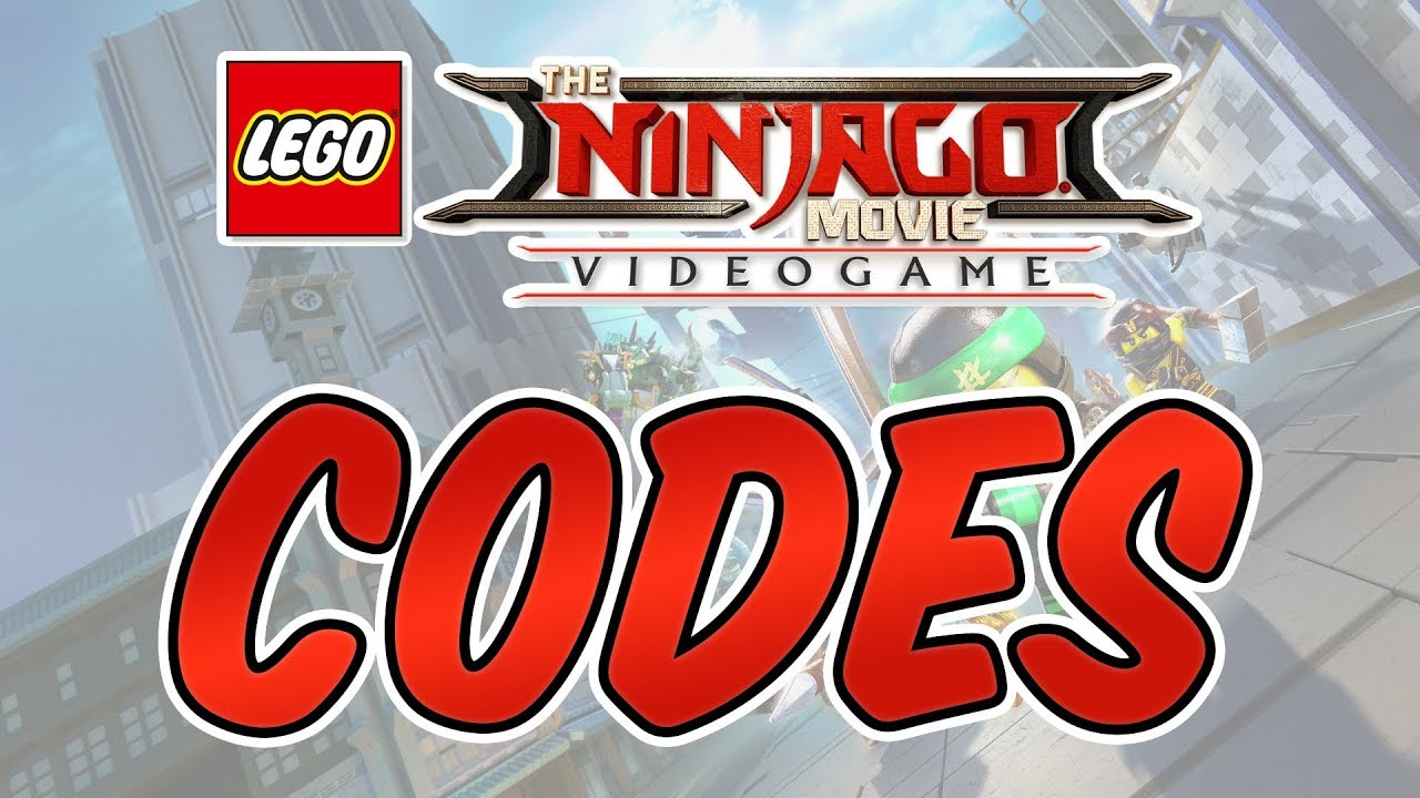 The Lego Ninjago Movie Videogame - All Character Cheat Codes