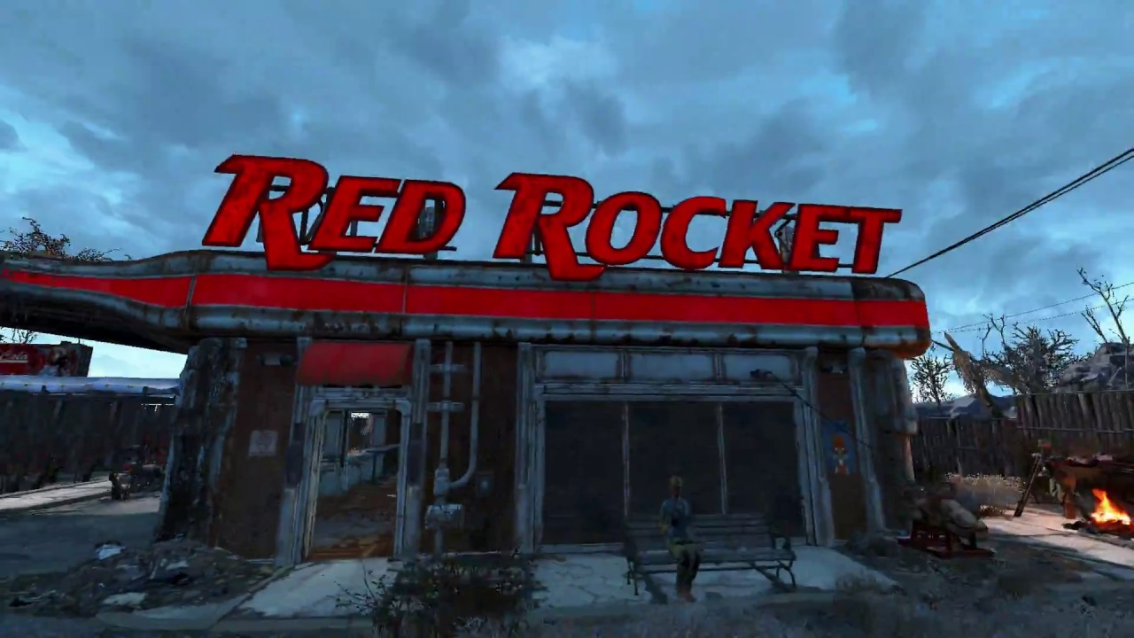FALLOUT 4 MODS REPAIRED RED ROCKET