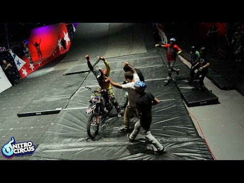 Jacko Strong Crushes FMX Front Flip - Nitro Circus Uncovered