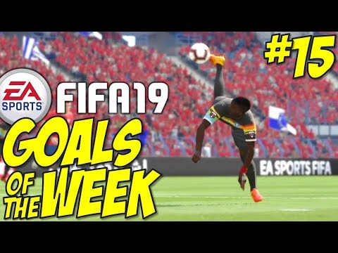 Fifa 19 - TOP 10 GOALS OF THE WEEK #15 thumbnail