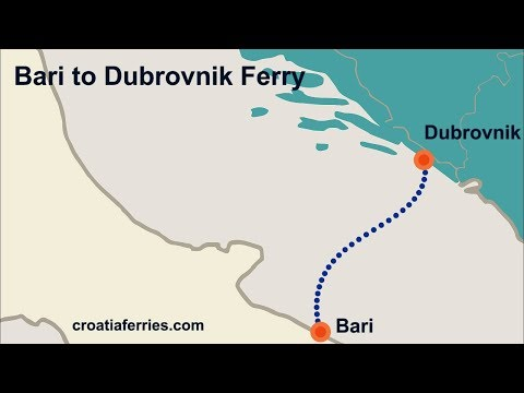 Bari To Dubrovnik Ferry