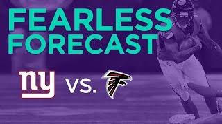 New York Giants at Atlanta Falcons Week 7 fantasy football preview