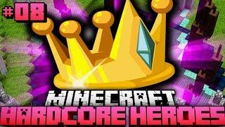 Der ENTSCHEIDENE KAMPF! - Minecraft Hardcore Heroes #08 [Deutsch/HD]