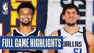 NUGGETS at MAVERICKS | FULL GAME HIGHLIGHTS | March 11, 2020
