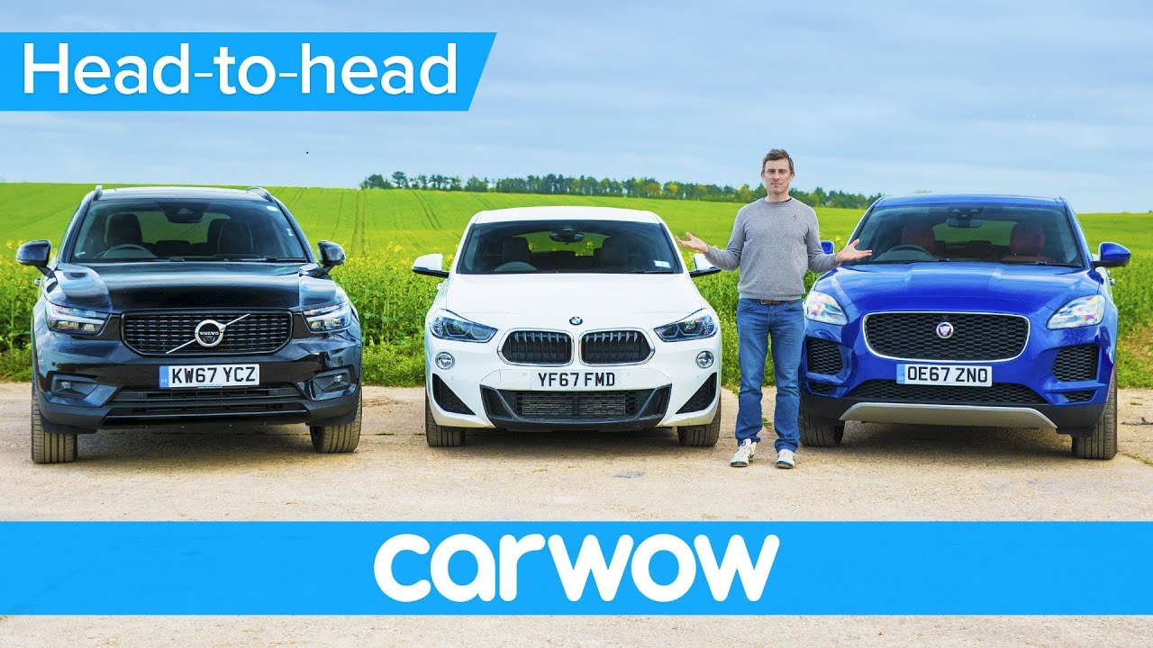 Bmw X2 Vs Volvo Xc40 Vs Jaguar E Pace Which Is The Best Small Suv Head 2 Head