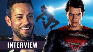 Superman in Shazam 2? | Zachary Levi im Interview