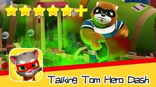 Talking Tom Hero Dash Day14 Walkthrough Hank's Map Recommend index five stars+