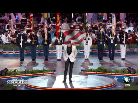 Trent Harmon Performs on the 2016 National Memorial Day Concert