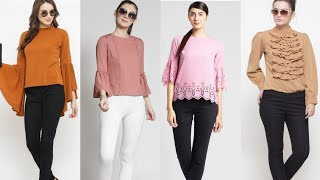 Myntra top haul 2019 affordable tops for collage,office myntra daily wear n party wear tops for girl