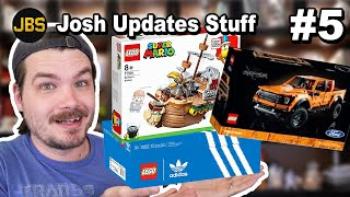 LEGO Shoes, Ships, and Trucks!…