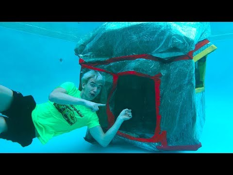 UNDERWATER BOX FORT!! from YouTube · Duration:  13 minutes 18 seconds
